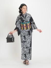 籠バッグ17-06-03 中黒   (タトゥ・黒系)