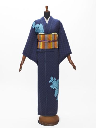 レディース ドットドビー 枝花更紗(コン)F