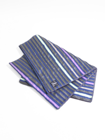 兵児帯18-01-03(ライン・こげ茶×紺×紫)