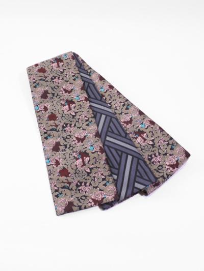 半巾帯0115-04 タトゥ柄(ピンク系)