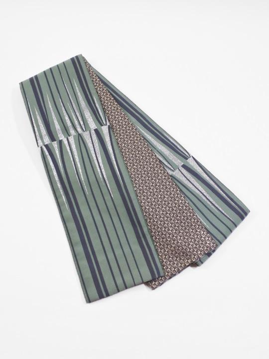 半巾帯0154-02 ブラウジング(ミントグリーン系)
