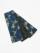 半巾帯0116-07 麻の葉柄(ターコイズ系)